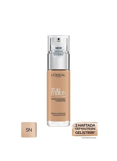 L'Oréal Paris True Match Fondöten 5N Sable/Sand Bej